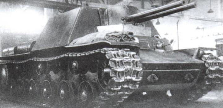 САУ КВ-7, второй вариант