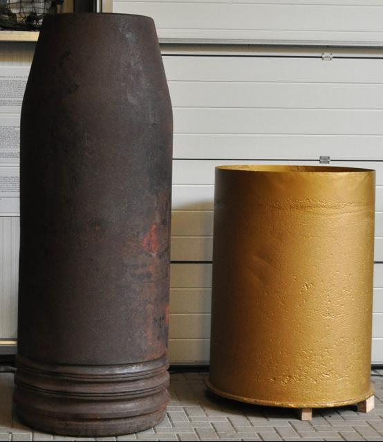 800-мм снаряды к пушкам Dora и Gustav