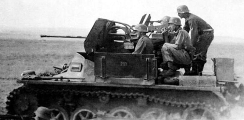 ЗСУ 2-cm Flak 38 auf Panzer I A