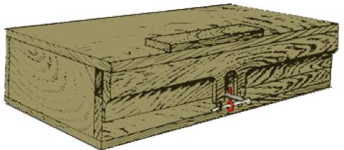 Рисунок противотанковой мины ЯМ-5