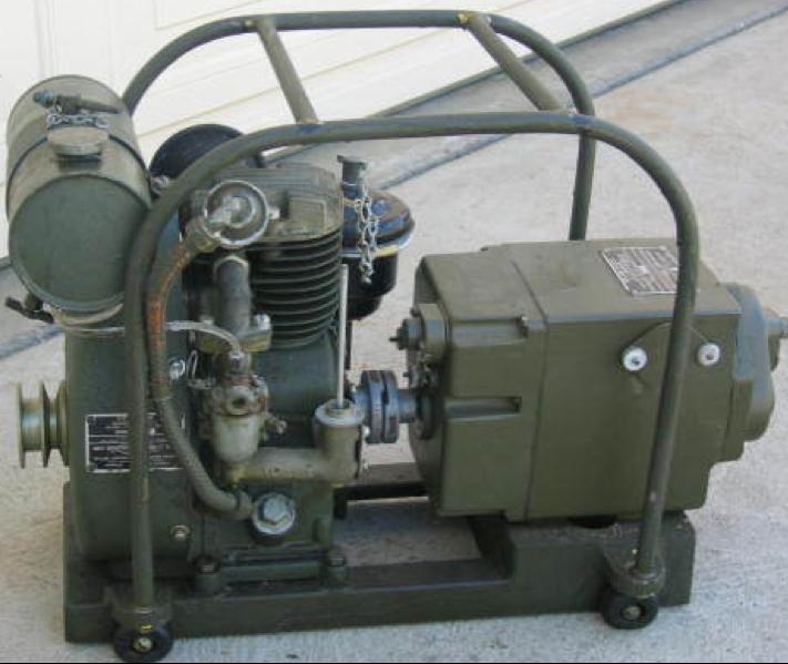Двигатель-генератор