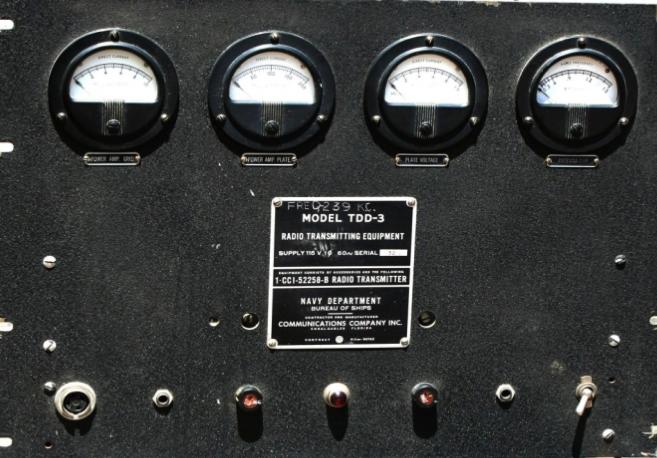 Корабельный передатчик TDD-3 (CCI-52258)