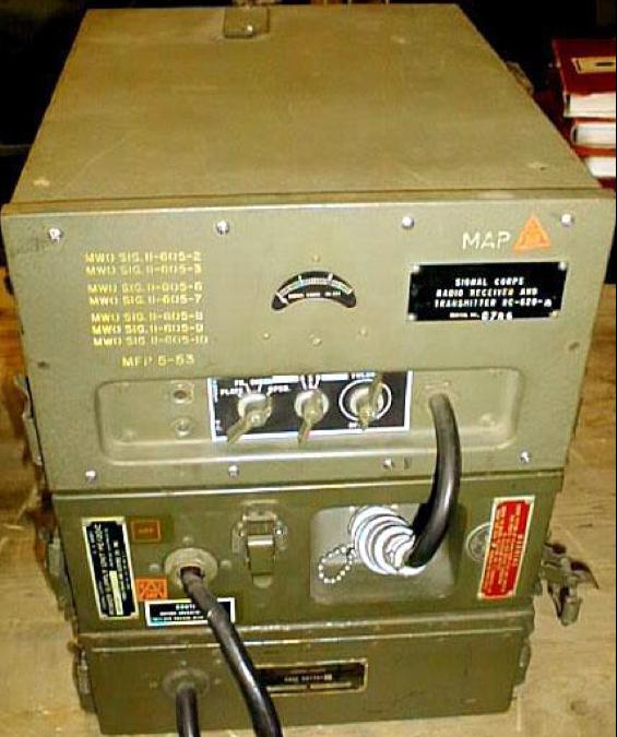 Портативная радиостанция SCR-510