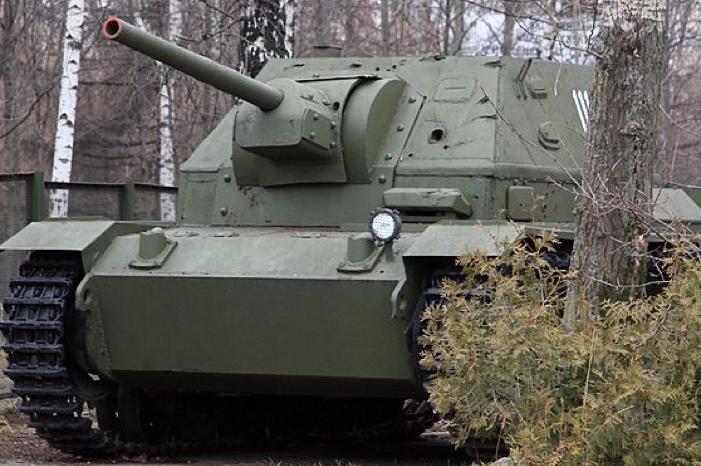 САУ СУ-76и («СУ С-1»)