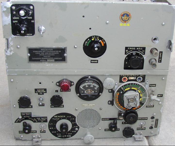 Мобильная радиостанция Wireless Set №52