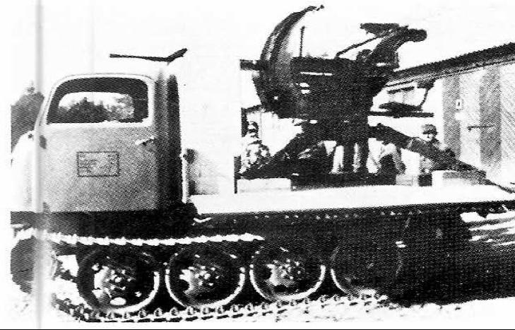 ЗСУ 2-cm Flak-38 auf RSO