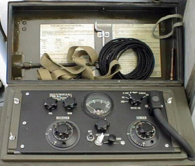 Ранцевая радиостанция Wireless Set №58