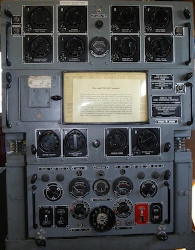 Корабельный передатчик TED UHF