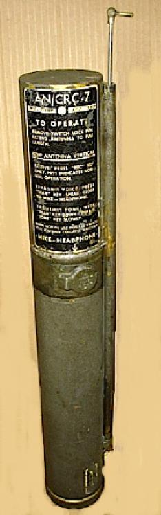 Аварийный передатчик (радиостанция) AN/CRC-7