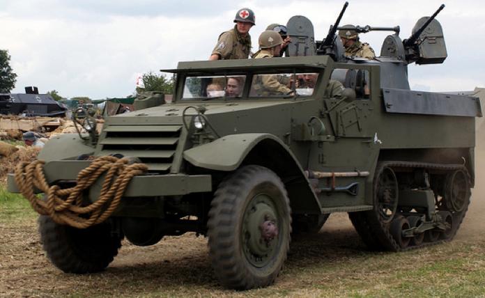 ЗСУ Multiple Gun Motor Carriage M-13