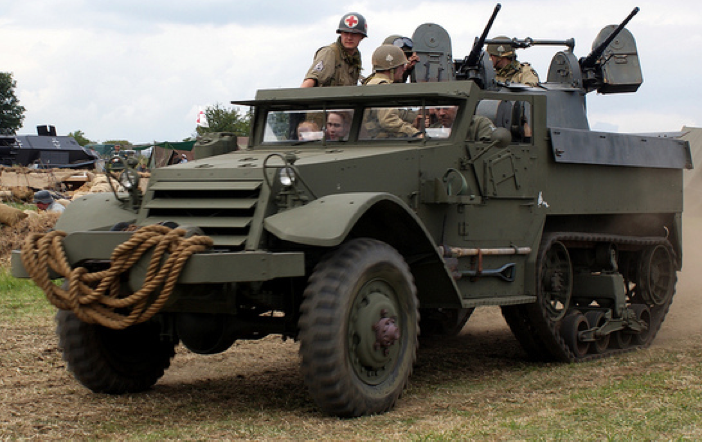 ЗСУ Multiple Gun Motor Carriage M-13