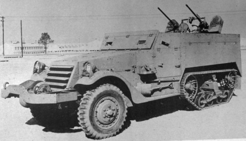 ЗСУ Multiple Gun Motor Carriage М-14