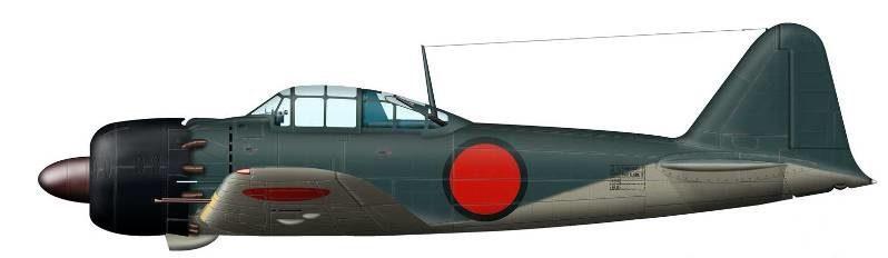 Bradic Srecko. Истребитель Mitsubishi A-6M5.