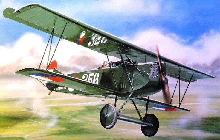 Postma Thijs. Истребитель Fokker D.VII.