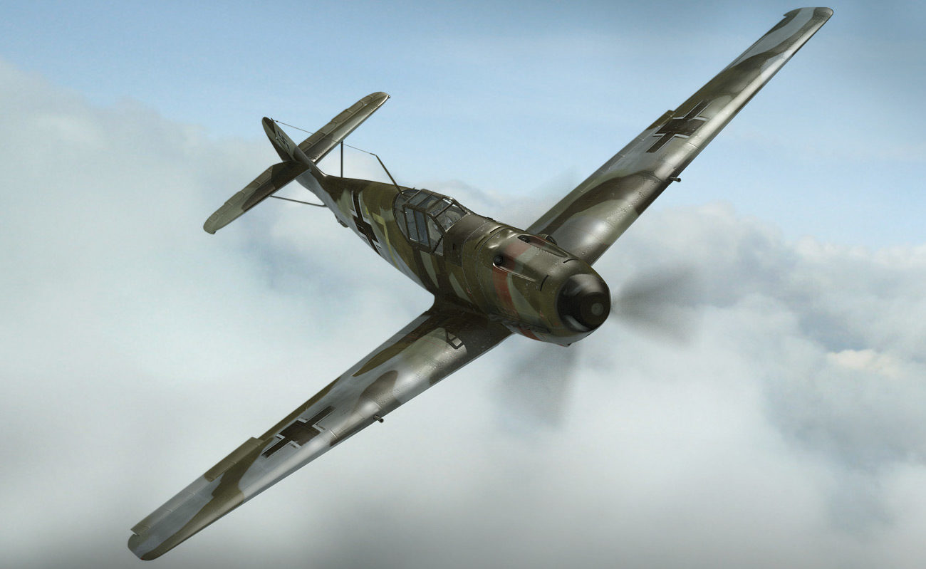 Lejczak Anders. Истребитель Ме-109.