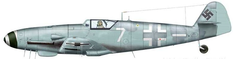 Bradic Srecko. Истребитель Bf-109G-6.