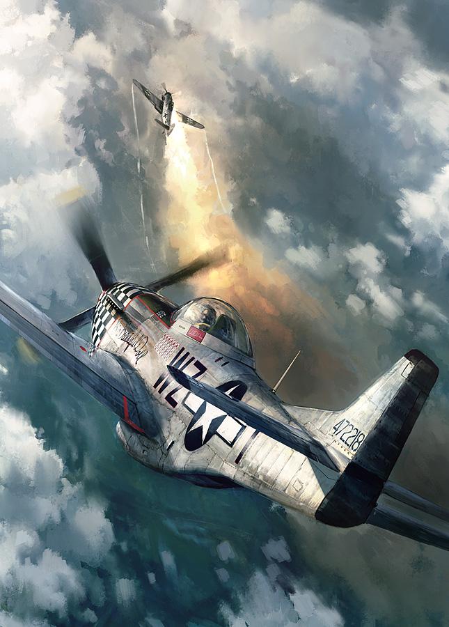 Liberto John. Истребитель Р-51 «Mustang».