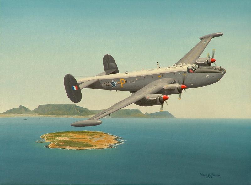 Andre du Plessis. Патрульный самолет Avro Shackleton.