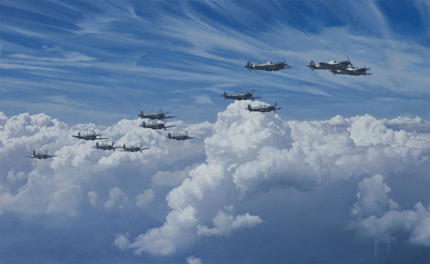 Hamilton Alex. Истребитель Supermarine Spitfire Mk.V.