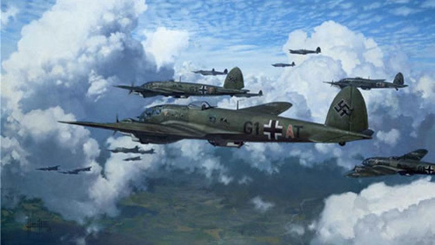 Hamilton Alex. Бомбардировщики Heinkel 111.