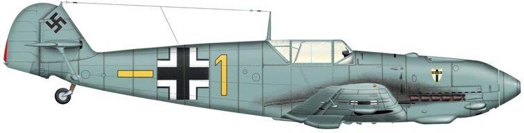 Bradic Srecko. Истребитель Bf-109E.