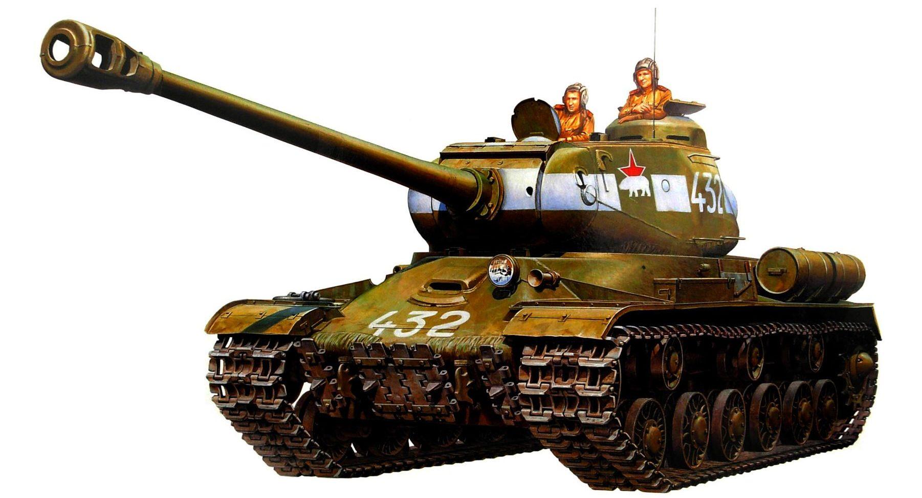 Fukumura Kazuaki. Танк ИС-2.
