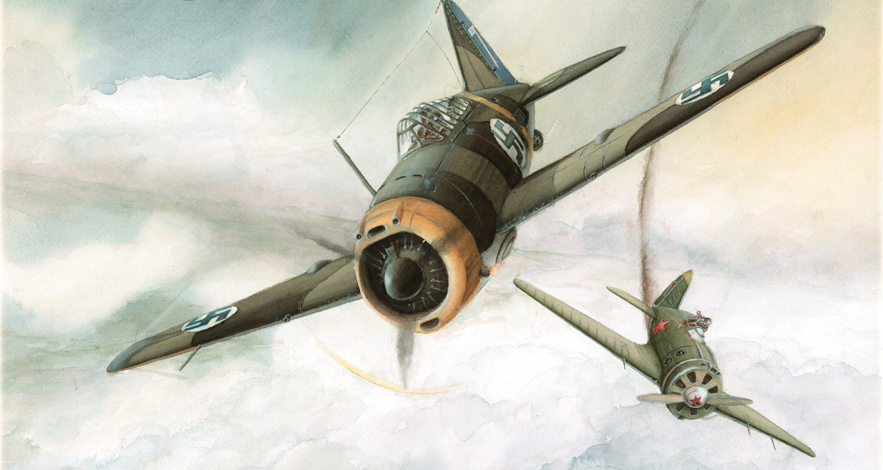 Gripenberg Sture. Истребитель Brewster BW-393.