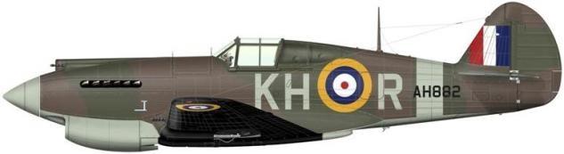 Bradic Srecko. Истребитель Curtiss Tomahawk Mk.IIa.