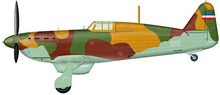 Bradic Srecko. Истребитель IK-3.