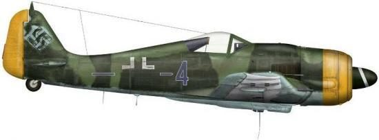 Bradic Srecko. Истребитель Focke-Wulf F-8 R1.