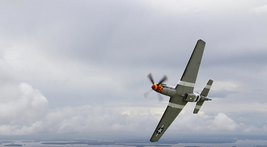 Karlsson Daniel. Истребитель P-51 Mustang.