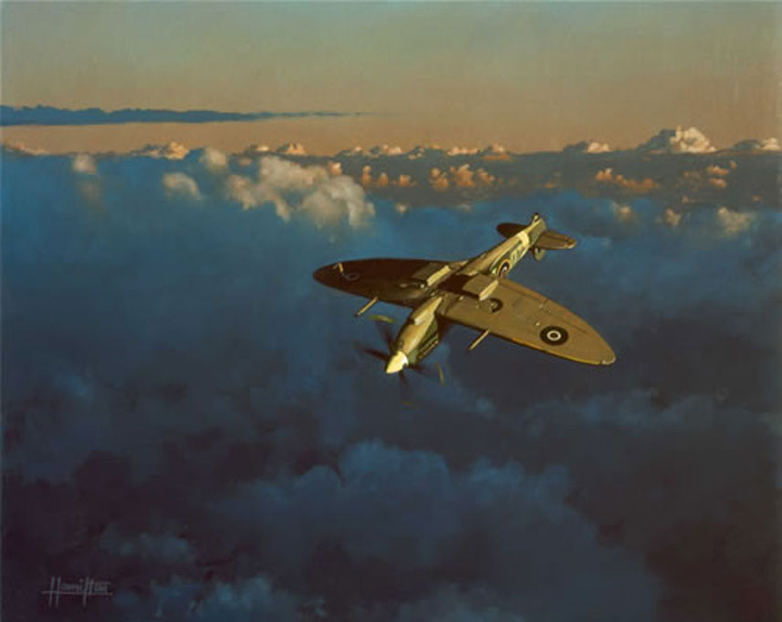 Hamilton Alex. Истребитель Supermarine Spitfire Mk. IX.