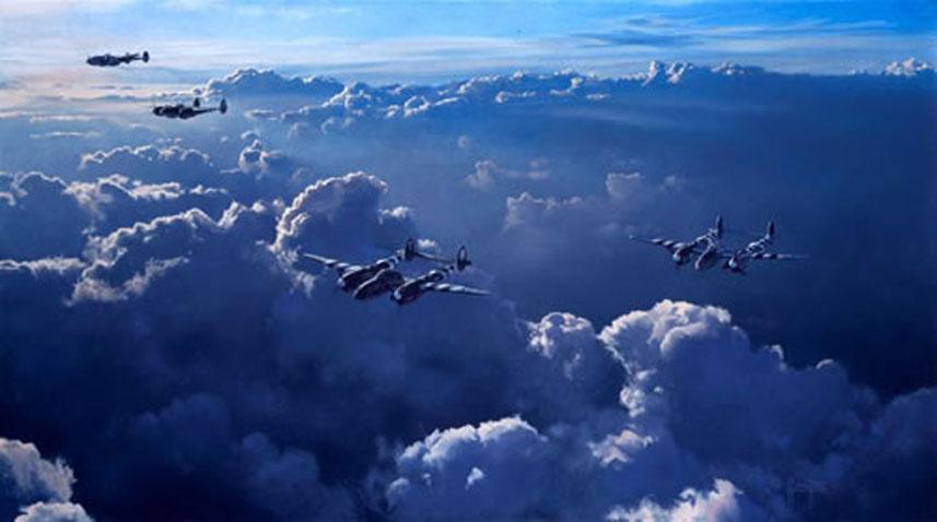 Hamilton Alex. Истребители Р-38.