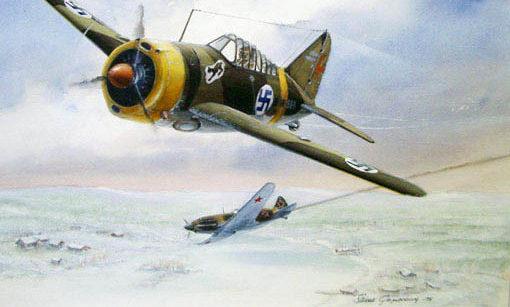 Gripenberg Sture. Истребитель Brewster BW-239.