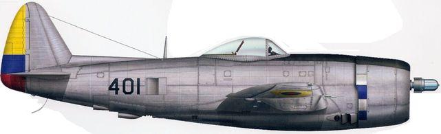 Bradic Srecko. Истребитель P-47D.