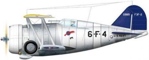 Bradic Srecko. Истребитель Grumman F3F-2.