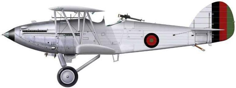 Bradic Srecko. Истребитель Hawker Hind.