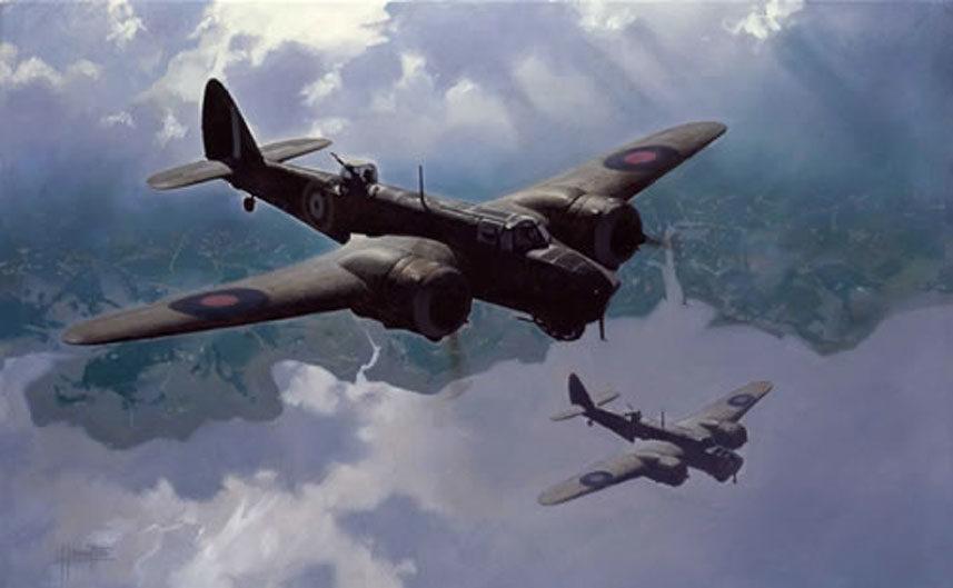 Hamilton Alex. Бомбардировщики Bristol Blenheim IV.