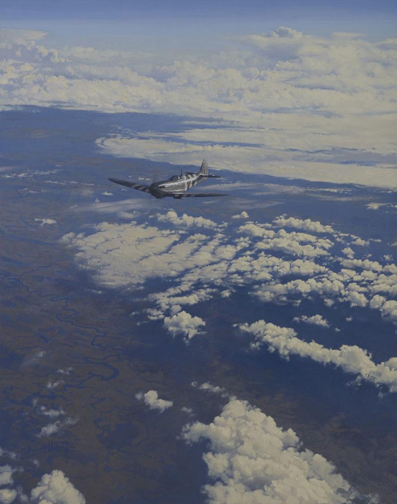 Hamilton Alex. Истребитель Supermarine Spitfire PR XI.