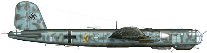 Bradic Srecko. Бомбардировщик Heinkel He-177.