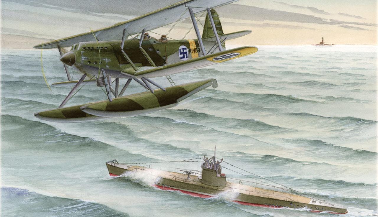 Gripenberg Sture. Гидросамолет Blackburn-Ripon II F.
