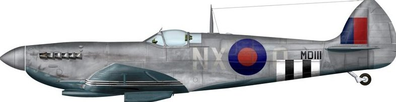 Bradic Srecko. Истребитель Spitfire Mk.VII.