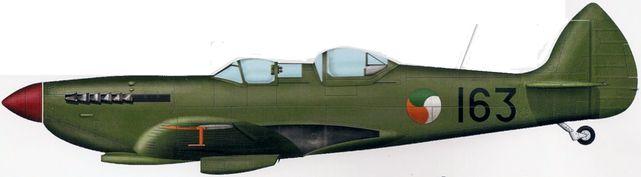 Bradic Srecko. Истребитель Supermarine Spitfire T.9.