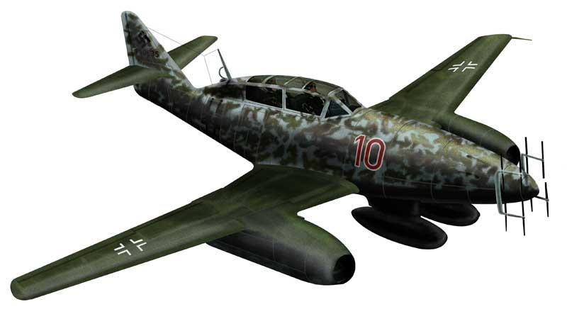 Bradic Srecko. Истребитель Ме-262.