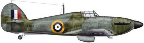 Bradic Srecko. Истребитель Hawker Hurricane Mk.IIb.