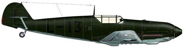 Bradic Srecko. Истребитель Bf-109E-3.