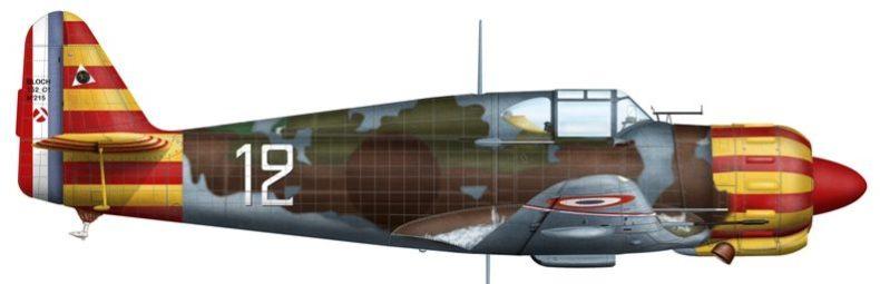 Bradic Srecko. Истребитель Bloch-152.