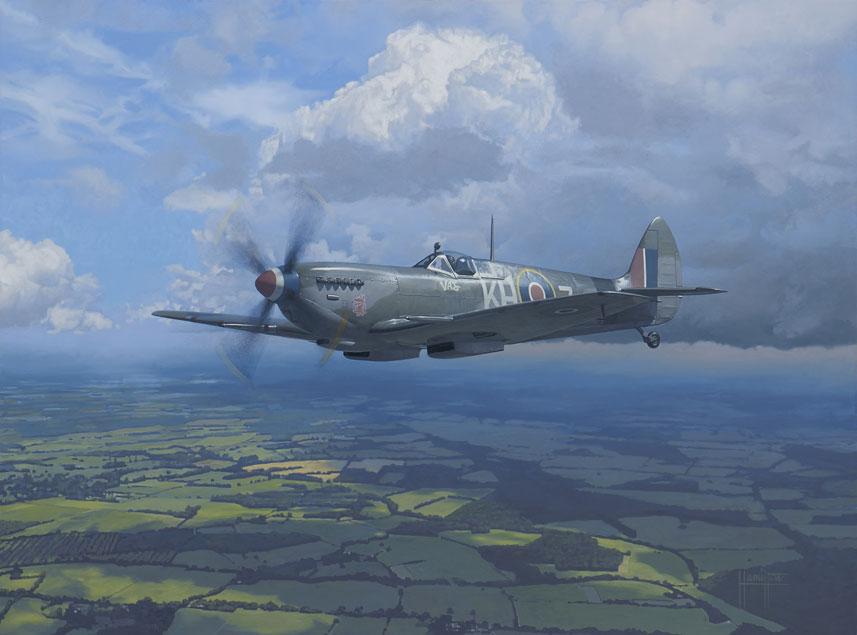 Hamilton Alex. Истребитель Spitfire Mk XVI(LF).