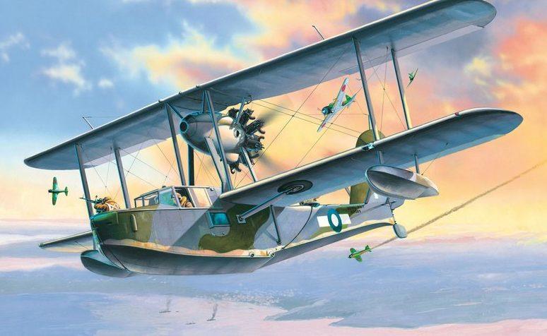 Frka Danijel. Летающая лодка Supermarine Walrus Mk. I.