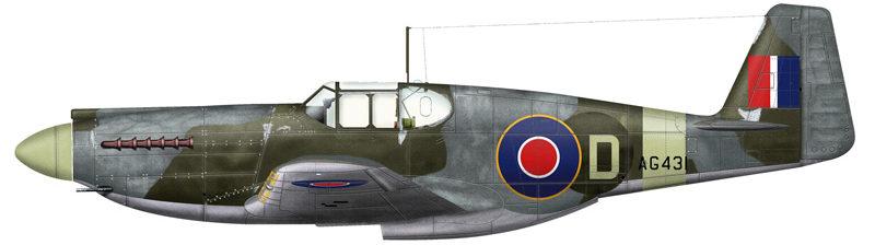 Bradic Srecko. Истребитель Mustang I.